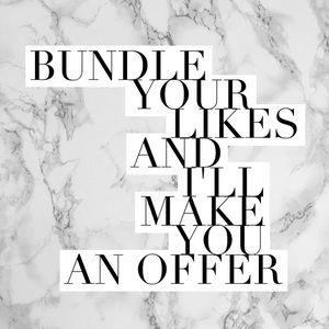 Other - Private offers for 3 item bundle!